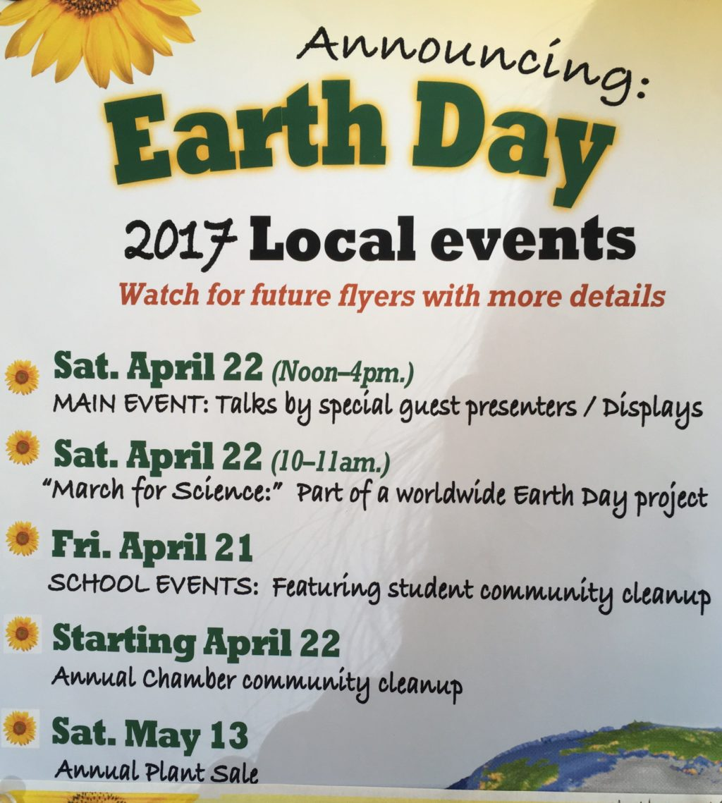 Busy Schedule For Earth Day In Haines