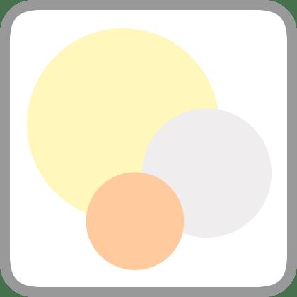 white palette