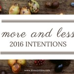 More and Less in 2016