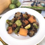 Brussels Sprouts and Squash with Wild Blueberries