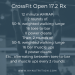 CrossFit Open 17.2: Scaled and Proud