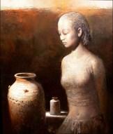 CERAMICS - Oil on Canvas 22 x 28