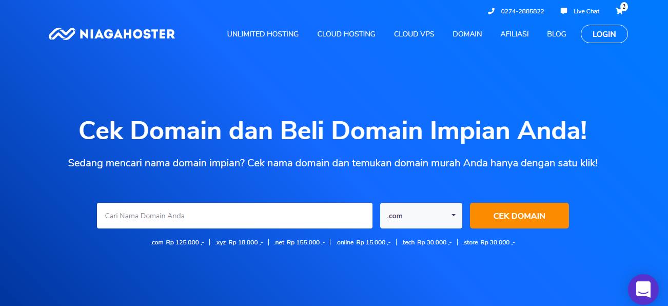 beli domain murah niagahoster