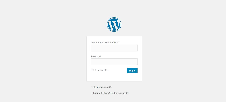 panduan buat blog wordpress
