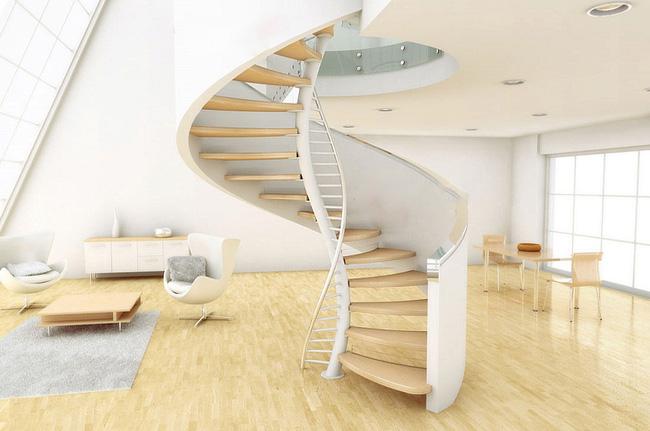 Đặt cầu thang đúng cách tránh ảnh hưởng đến vận mệnh của cả gia đình