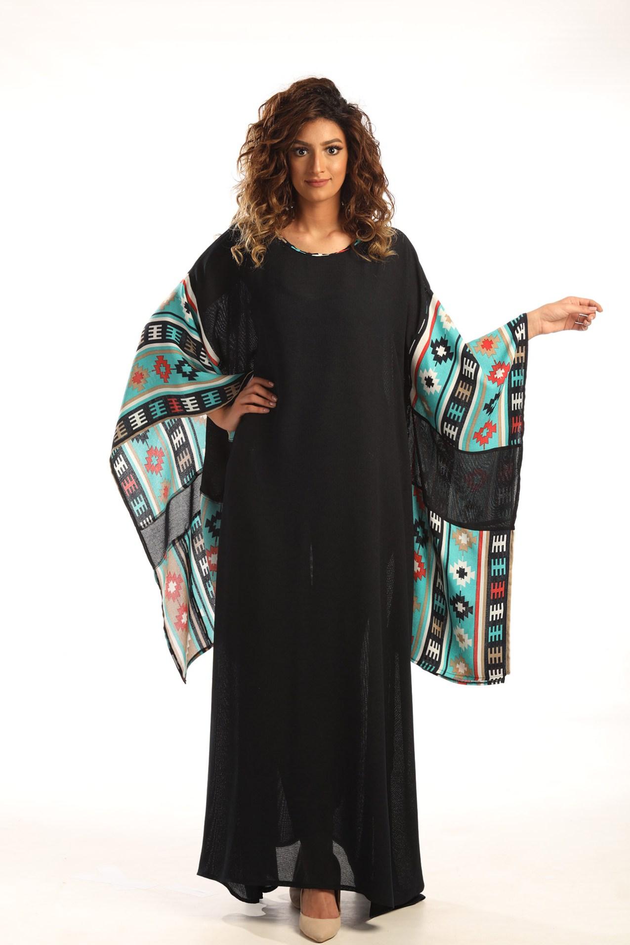 d748c22c6c0b4 Dark-Blue Abaya – متجر خود للأزياء – أناقة بلا عناء – Khood Fashion ...
