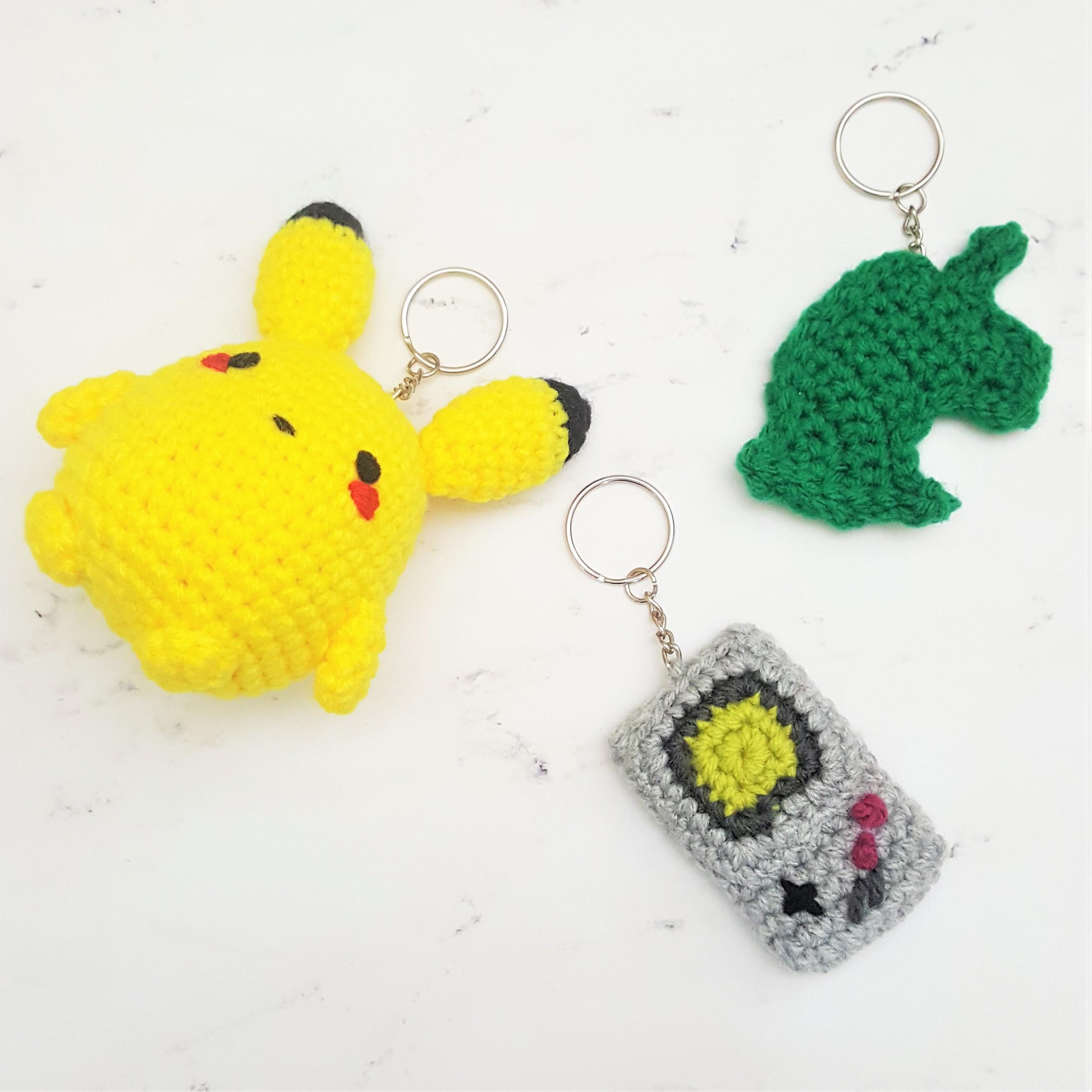 Crochet Keychain - 15 Free Crochet Patterns ⋆ DIY Crafts | 2644x2644