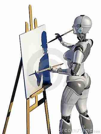 Robot-robotlar-yapay_zeka-robot_ressam-dijital_sanat