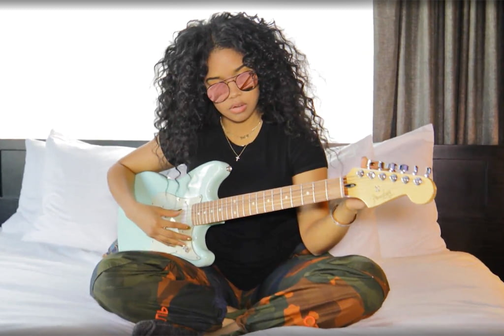 Vogue Goes Backstage With H.E.R. At Afropunk 2018