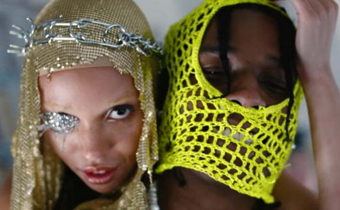 "VIDEO: ASAP Rocky and FKA twigs Star in New ""Fukk Sleep"" Video + New Avantgarden Magazine"