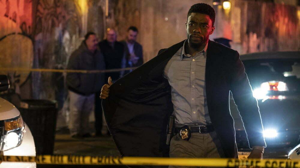 Black Panther superhero stars in 21 Bridges