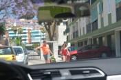 Picking Olivia up in Torremolinos