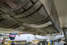 TSR2 from the underwing of Concorde