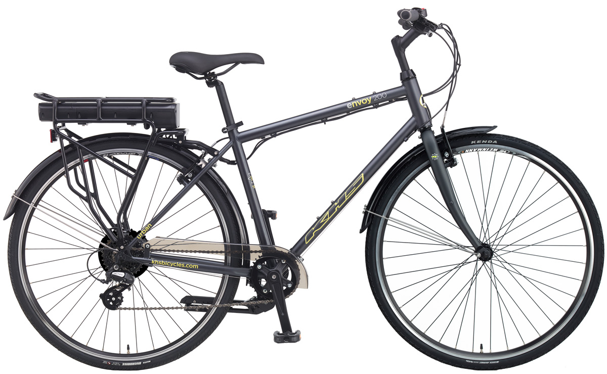 2020 KHS Envoy 200 e-bike in Dark Gray