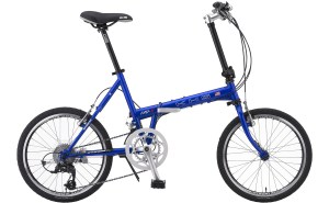 KHS Mocha Folding Bicycle in Blue