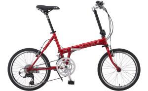 KHS Mocha Folding Bicycle in Blue