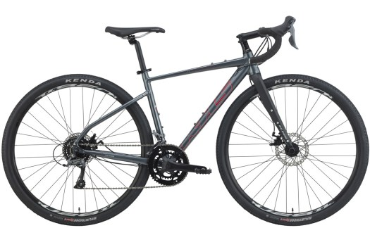 2021 KHS Bicycles Grit 110 Dark Gray