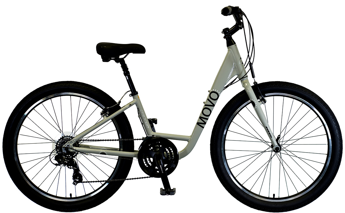 2021 KHS Bicycles Movo 2.0 Step-Thru in Gray