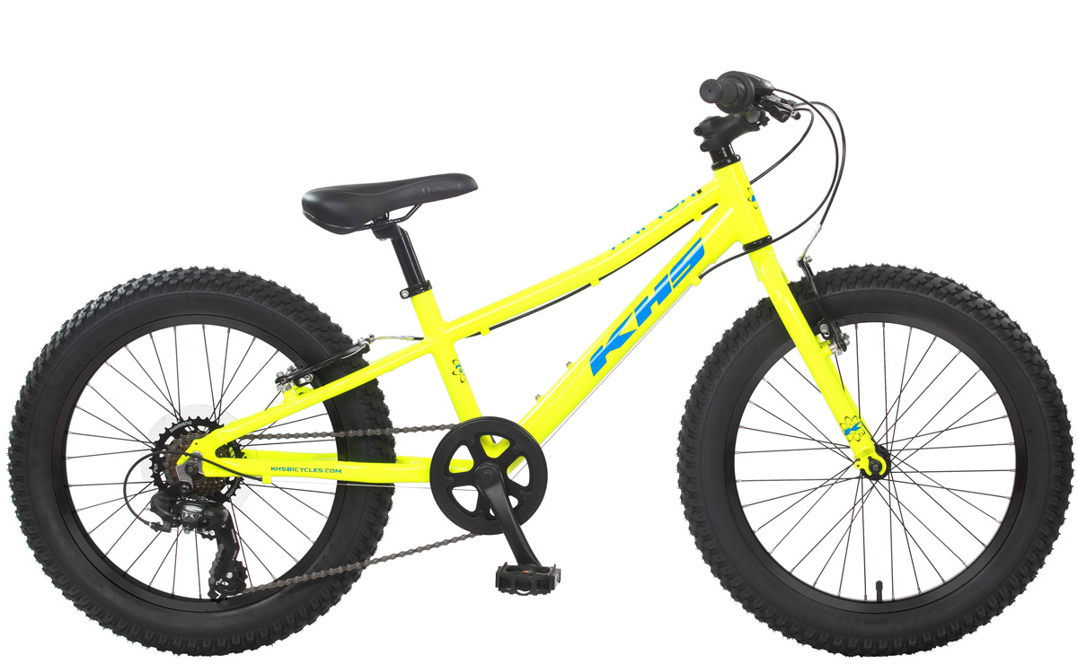 2021 KHS Bicycles Raptor Plus in Neon Yellow