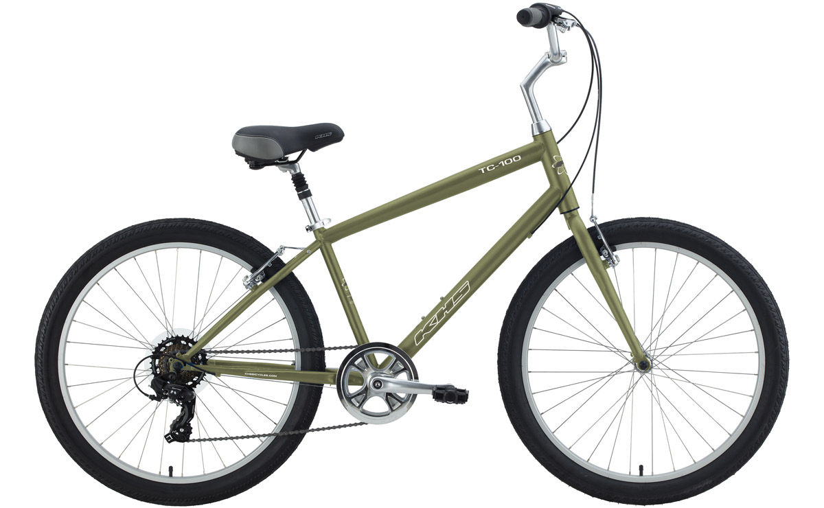 2021 KHS Bicycles TC 100 in Khaki Green
