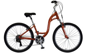2021 KHS Bicycles TC 150 Step-Thru in Rust