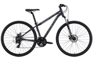 2021 KHS Bicycles UltraSport 1.0 Ladies in Matte Dark Gray