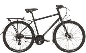 2021 KHS Bicycles Urban X in Matte Black
