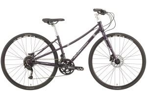 2021 KHS Bicycles Urban Xpress Disc Ladies in Dark Purple