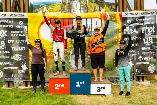 KHS Pro MTB rider Kailey Skelton first place at the third stop of the Northwest Cup in Montana.