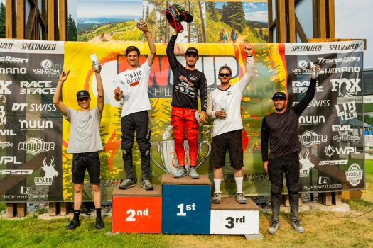 KHS Pro MTB rider Nik Nestoroff first place at the third stop of the Northwest Cup in Montana.