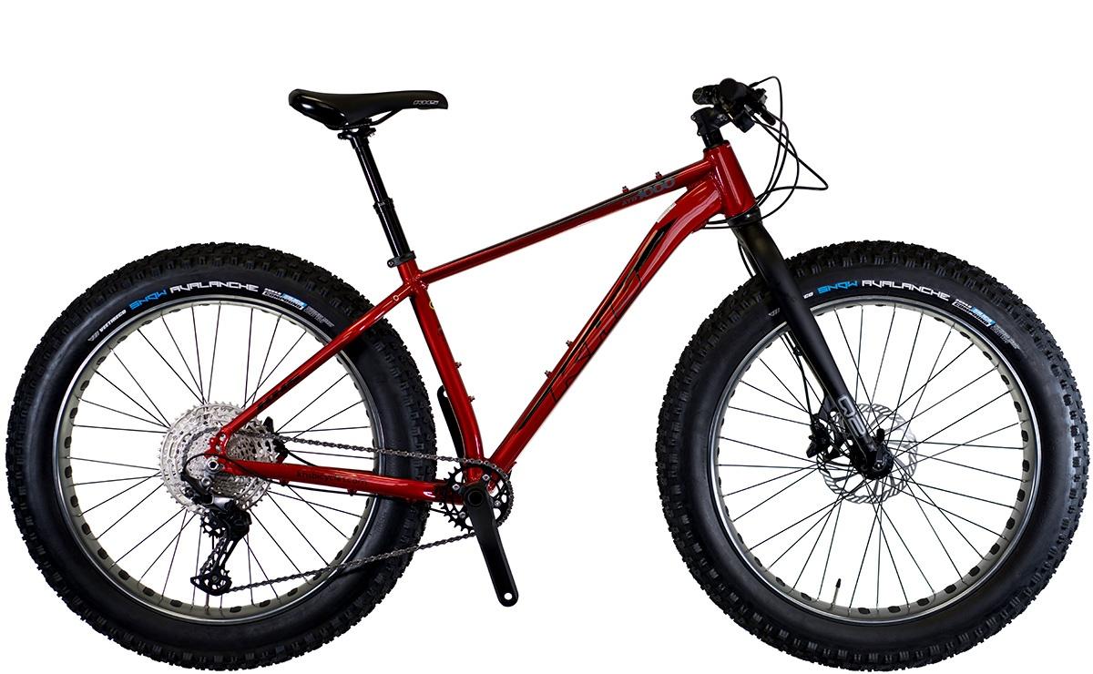 2022 KHS Bicycles 4-Season 1000 in Metallic Red