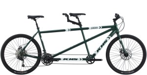 2022 KHS Bicycles Cross Tandem in Green