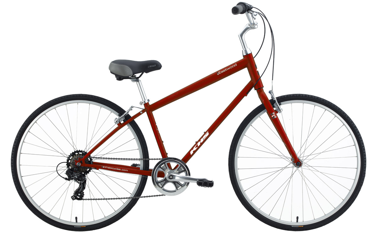 2022 KHS Bicycles Eastwood in Brilliant Red