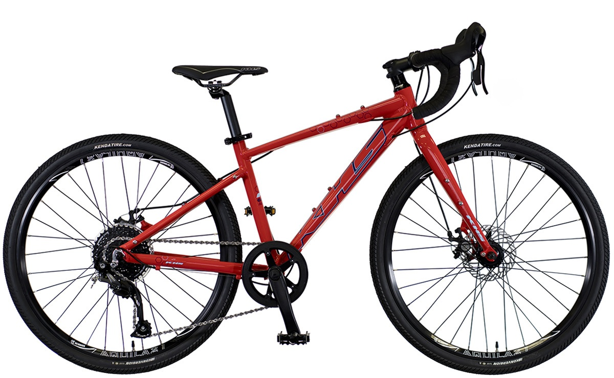 2022 KHS Bicycles Grit 24 in Bright Red