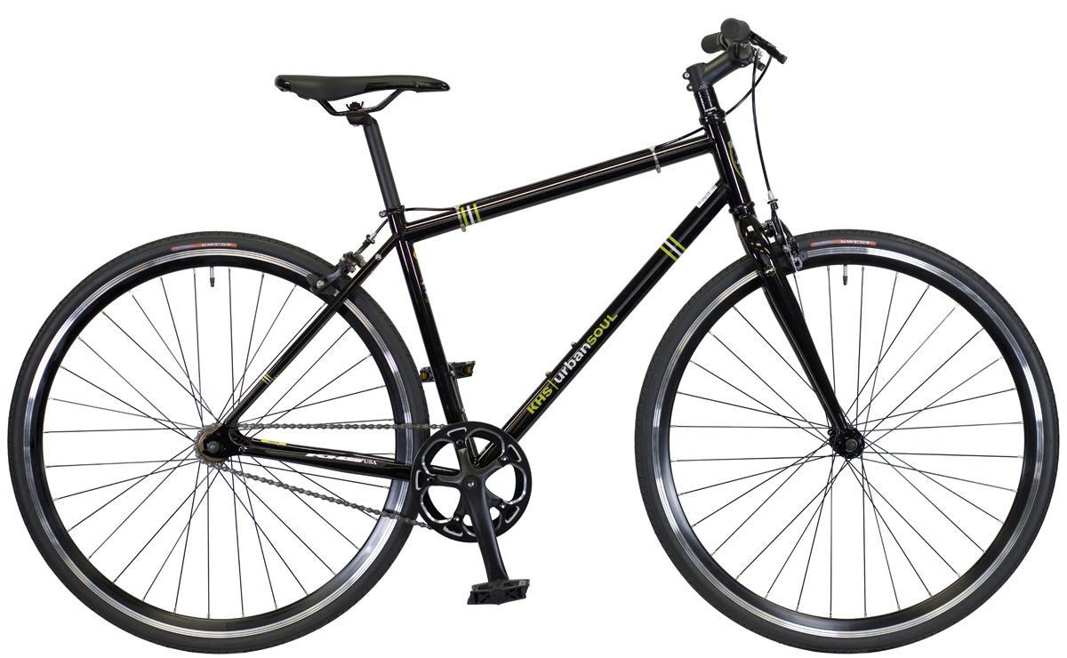 2022 KHS Bicycles Urban Soul in Liquid Black
