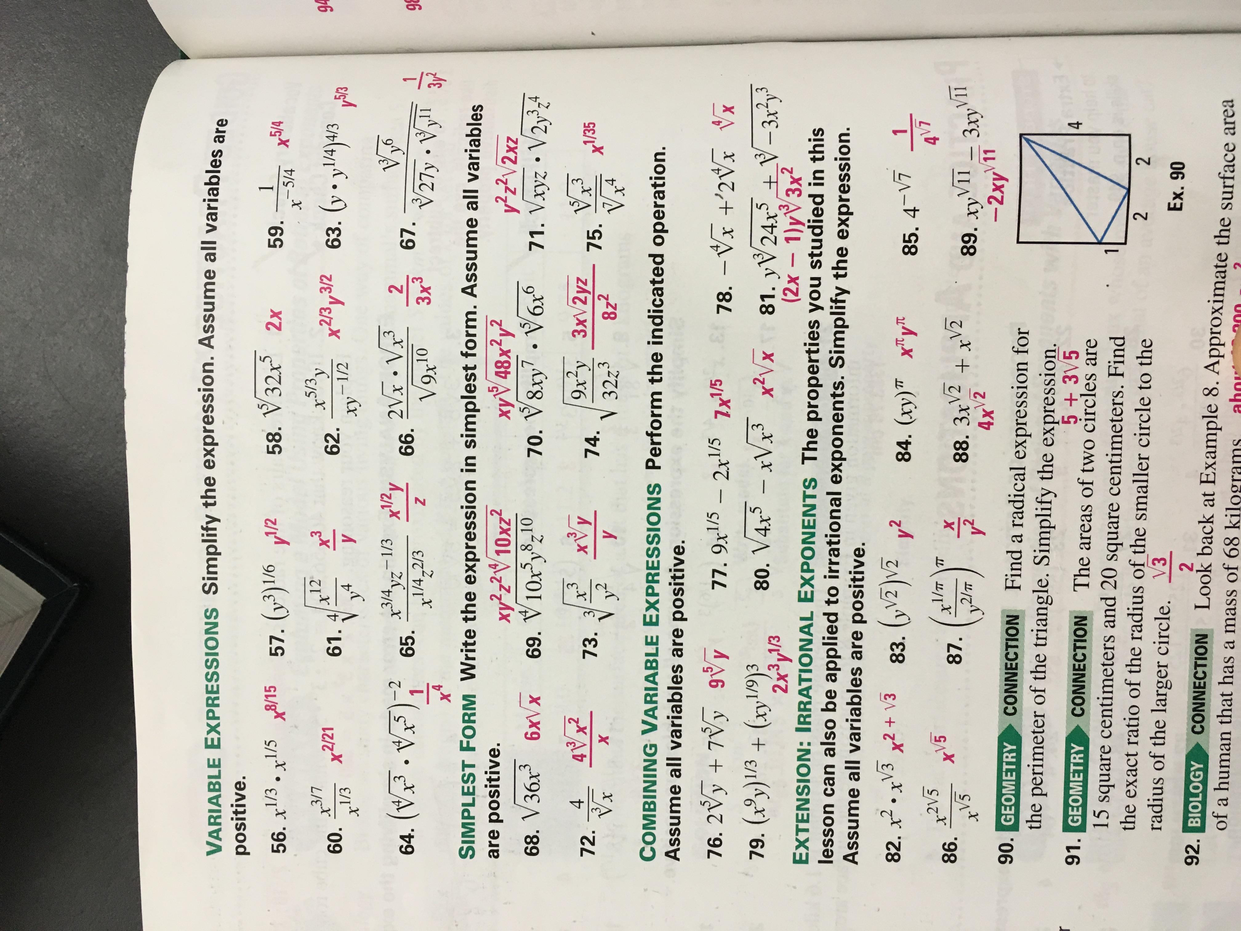 Algebra Ii Pre Ap