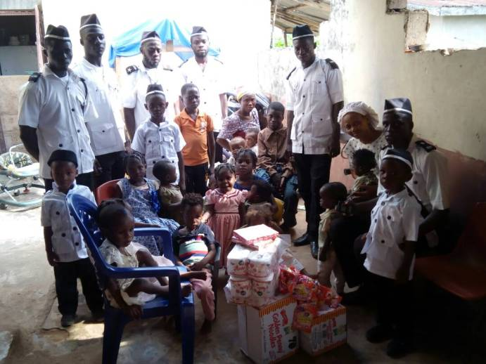 Omi-Adio donates to Orphanage, visits widow