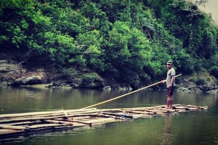 Thanchi sangu river