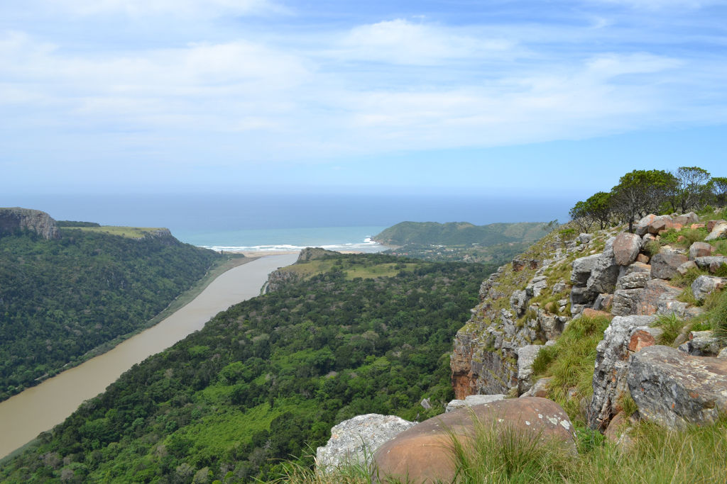 River mouth in Eastern Cape