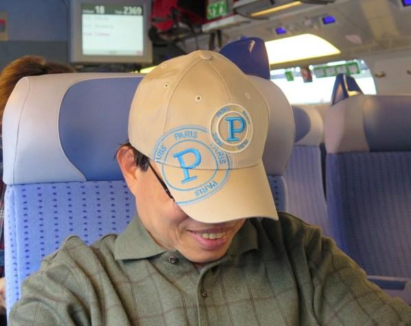 Train from Paris to Strasbroug - Luan