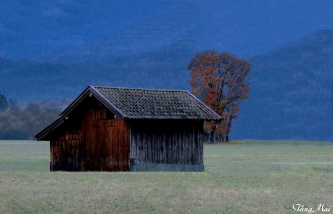 Garmisch-Partenkirchen - Barns. Photo: TongMai