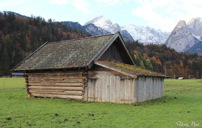 Garmisch-Partenkirchen - Cabanes. Photo: TongMai