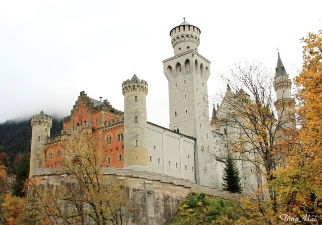 Neuschwanstein Castle. Photo: TongMai