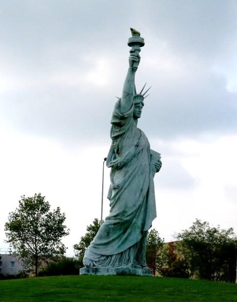 Strasbourg - Statue of Liberty. Photo: TongMai