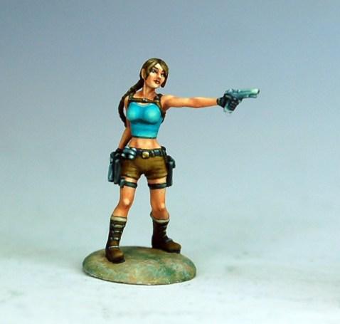 Lara Croft en 15mm