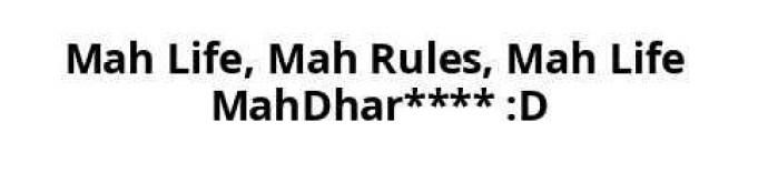 mah life