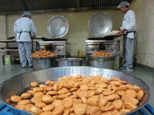Indian Railway Kitchen
