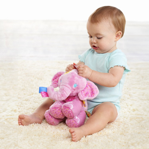 Plush-toy-baby-play