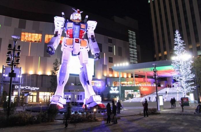 The Giant Robot at Gundam