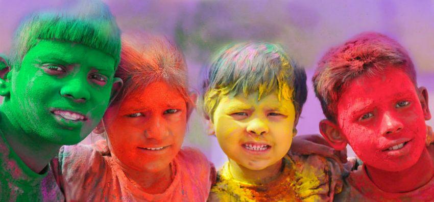 Celebrate Holi